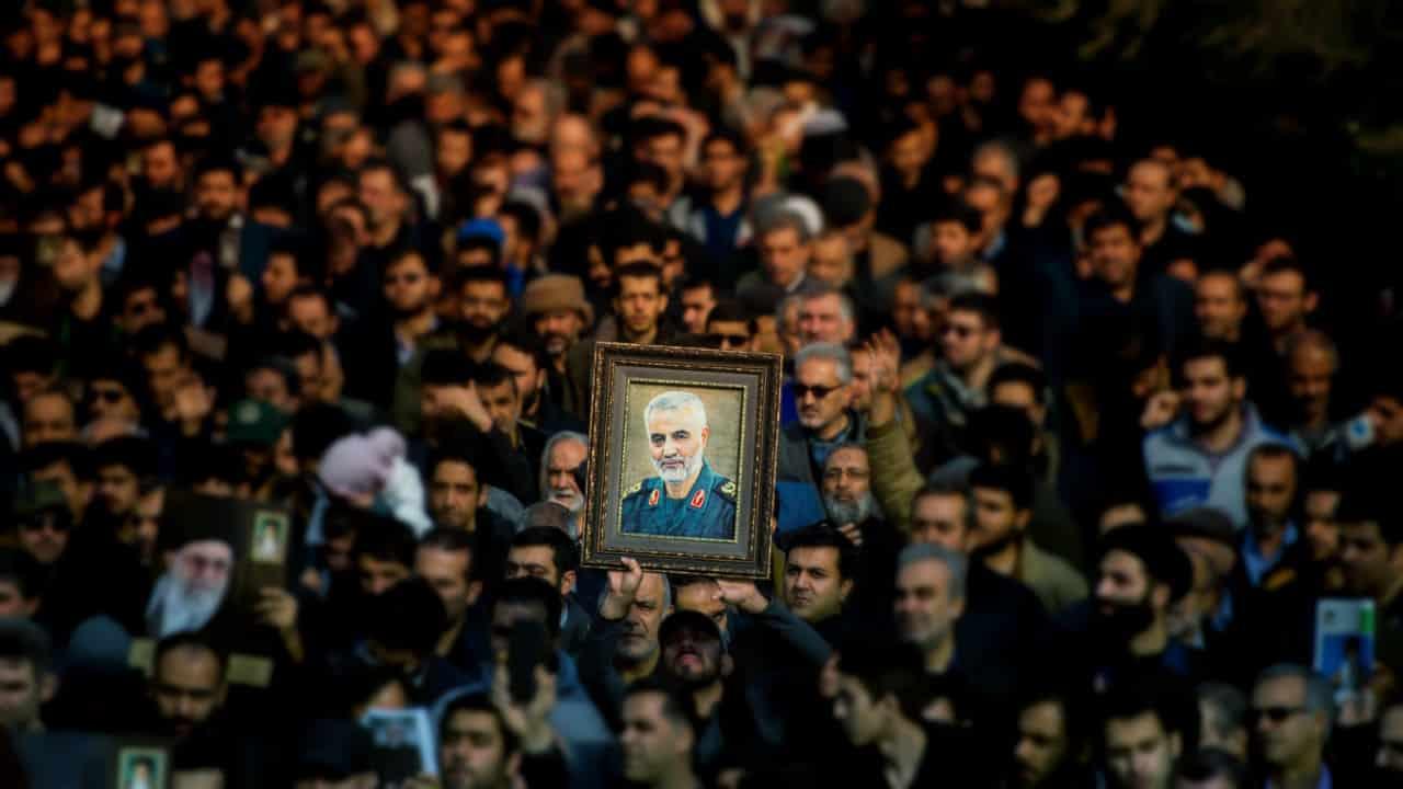 Katil ABD ye karşı gönlüm İran ile birlikte kasım süleymani