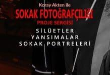 Koray Akten ile proje sergisi: Silüetler, yansımalar, sokak portreleri