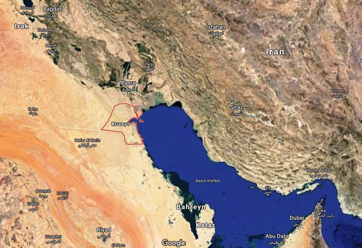 kuwait Arifjan base kuveyt amerikan üssü