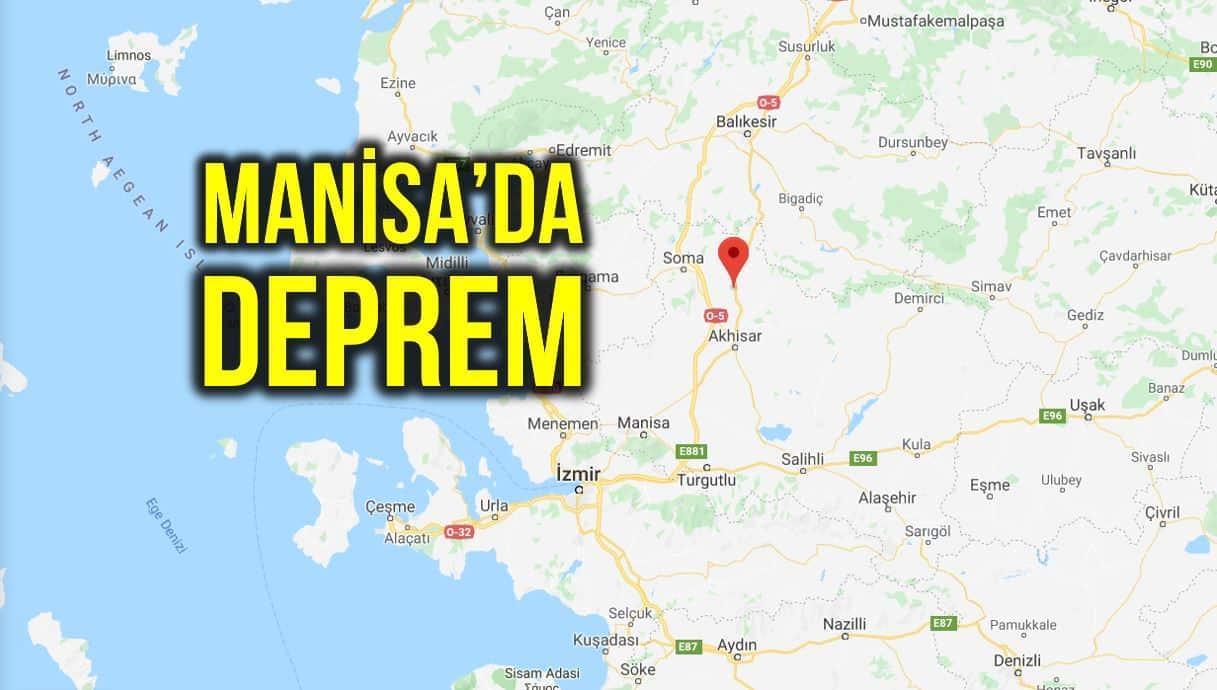 Manisa Kırkağaç 5.1 büyüklüğünde deprem oldu