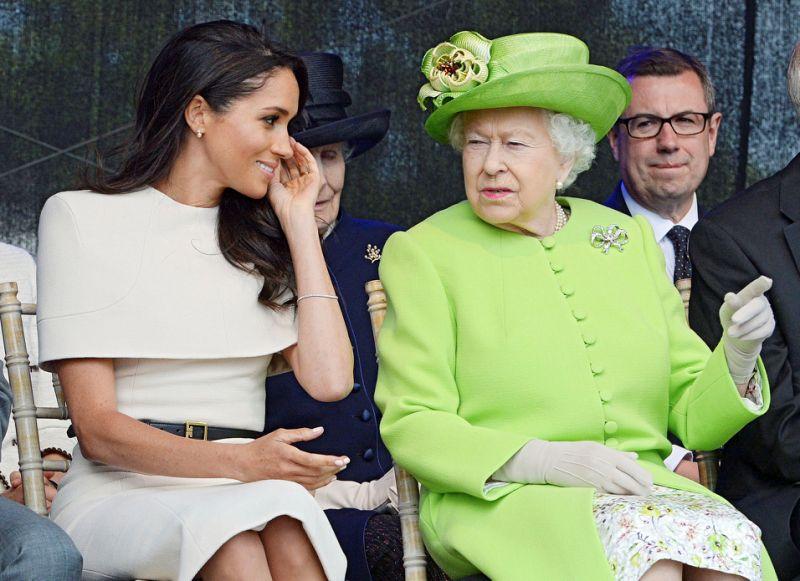 meghan markle kraliçe elizabeth
