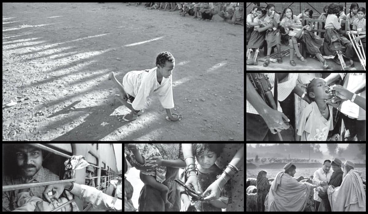Polio çocuk felci Salgado az bilinen foto röportajı