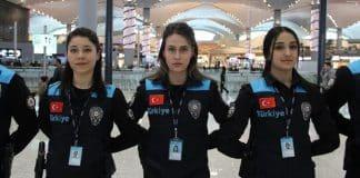 Polis üniformalarında tepki çeken Turkey yazısı değiştirildi