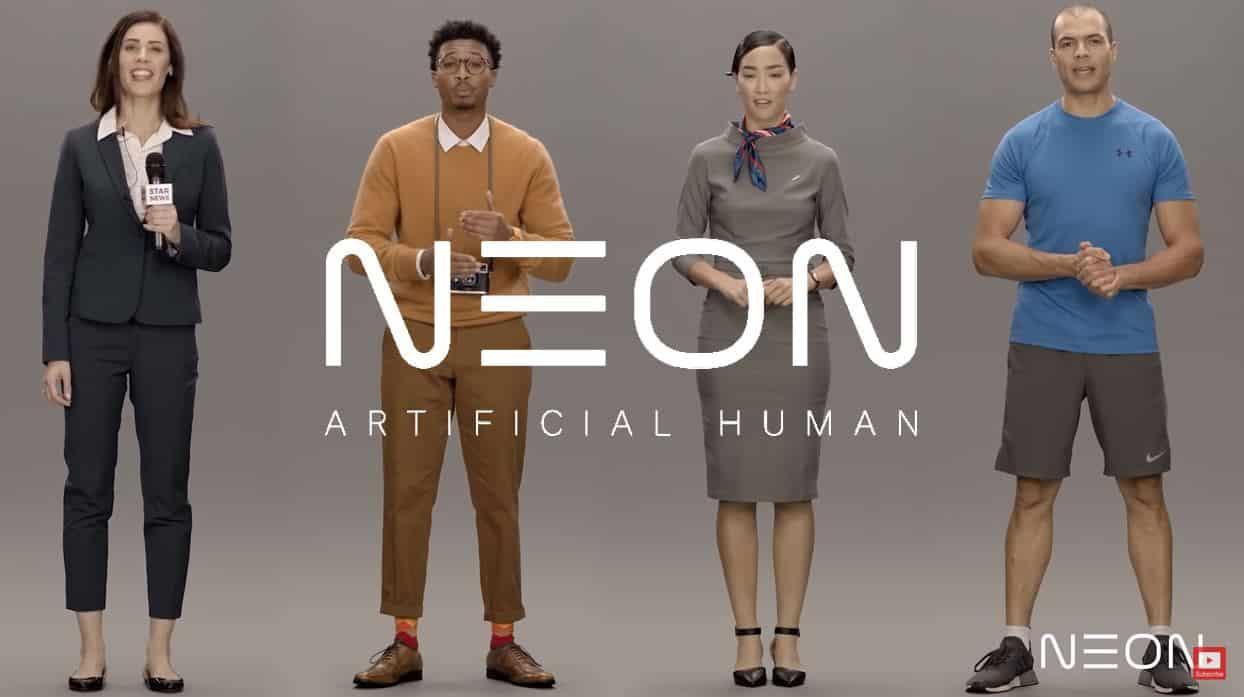 NEON: Samsung STAR Labs yapay insan avatarlar geliyor!