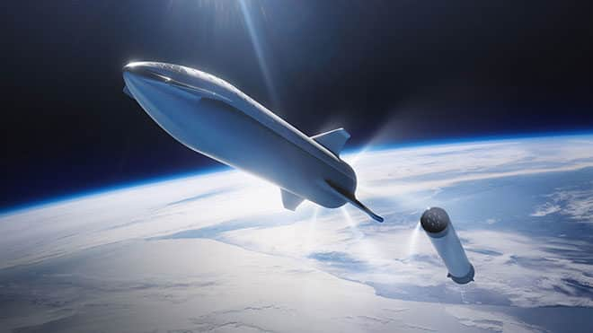 spacex starship roketi