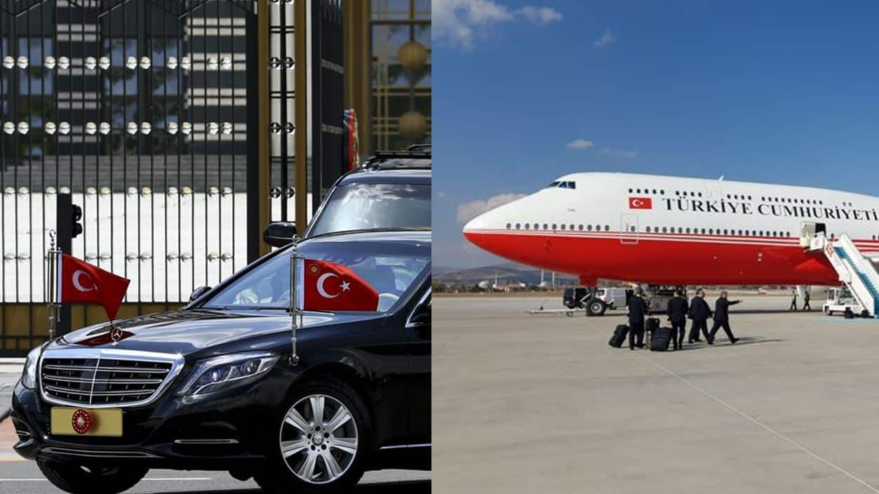 Cumhurbaşkanlığı uçak filosu Almanya ve Fransa gibi ülkelerden daha büyük