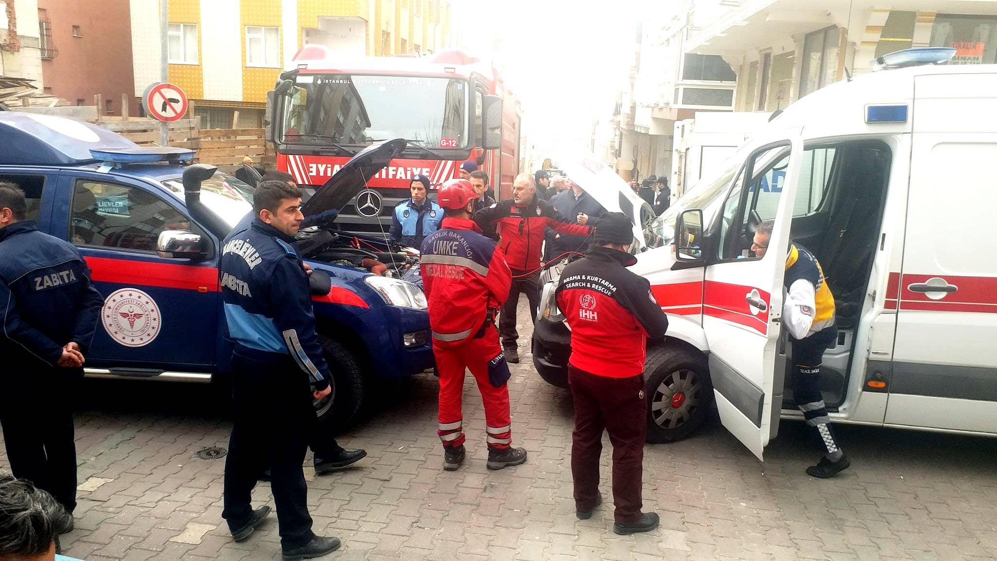 bahçelievler ambulans aküsü bitti