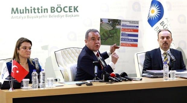 Antalya Büyükşehir Belediye Başkanı Muhittin Böcek (CHP)
