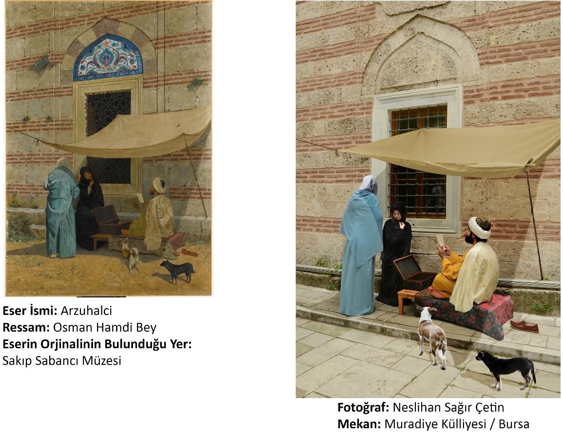arzuhalci tablosu osman hamdi bey fotoğraf neslihan sağır çetin