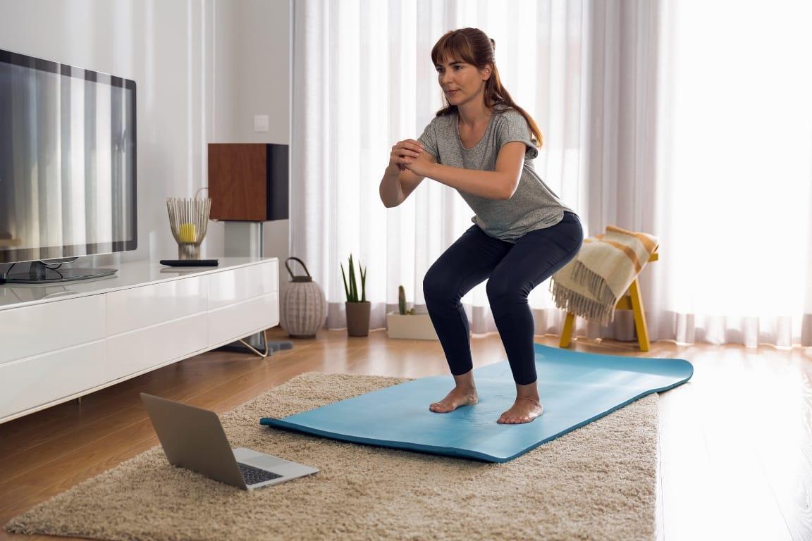 burpee egzersizi squat