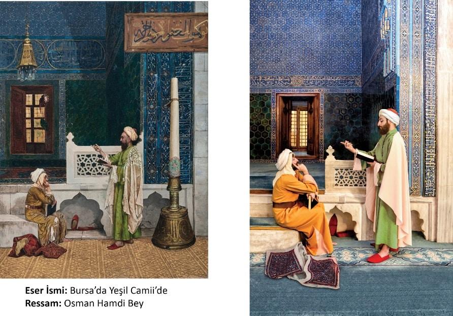 Bursa'da Yeşil Camide - Osman Hamdi Bey
