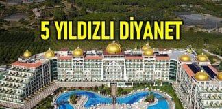 Diyanet Antalya'daki 5 yıldızlı otellerde milyonlarca lira harcadı