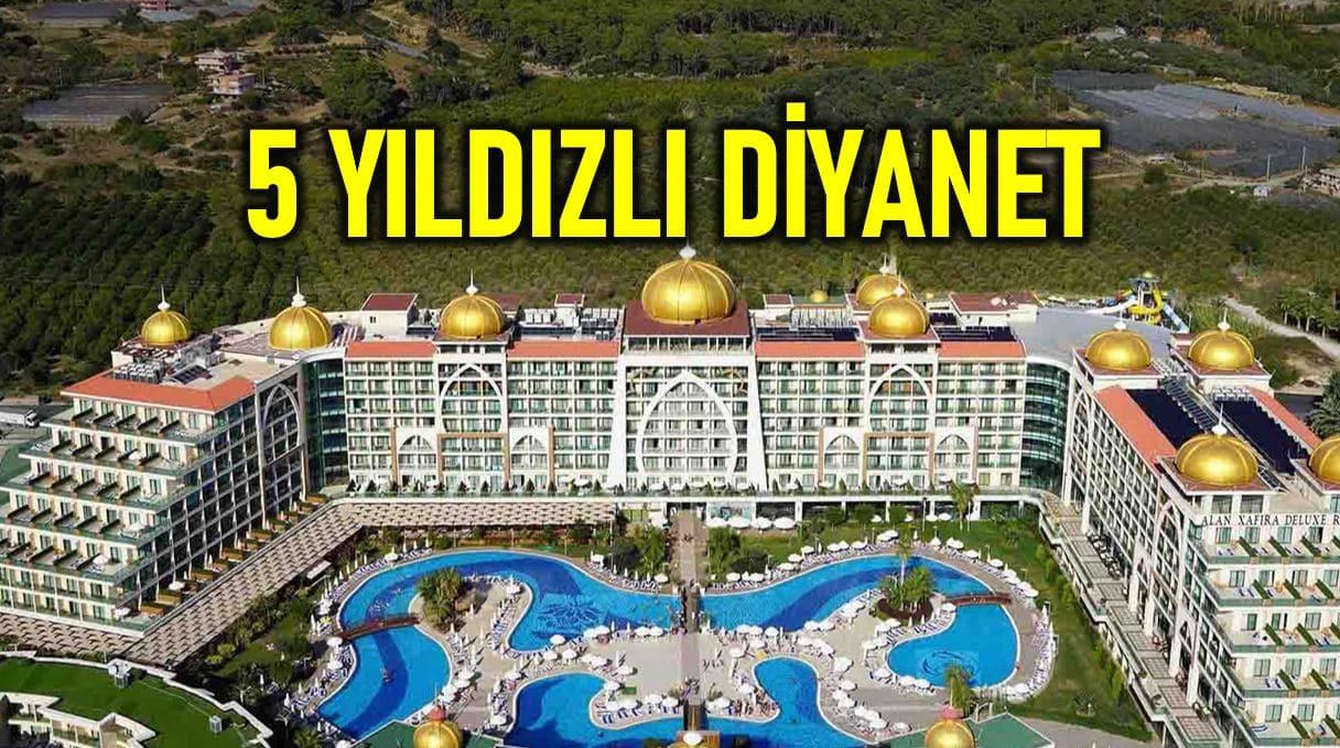 Diyanet Antalya daki 5 yıldızlı otellerde milyonlarca lira harcadı