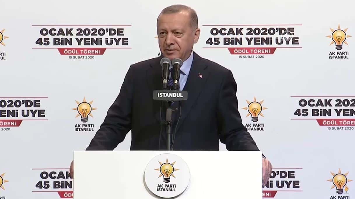 Erdoğan: İdlib de 4 milyona yakın Suriyeli ülkemize gelme arzusunda