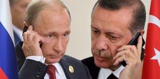 Cumhurbaşkanı Erdoğan ve Rusya Devlet Başkanı Putin telefonda görüştü