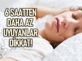 Günde 6 saatten az uyuyan kişilerde obezite riski yüzde 45 artıyor!