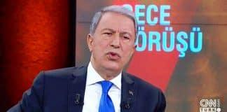 Hulusi Akar: Rusya ile karşı karşıya gelmek gibi bir niyetimiz yok