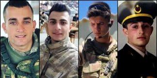 İdlib'de şehit düşen kahraman Mehmetçiklerin isimleri belli oluyor