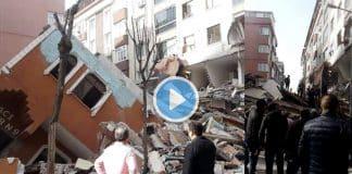 İstanbul Bahçelievler 7 katlı bir bina çöktü