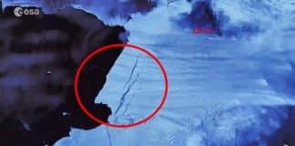Korkutan görüntü: Ülke büyüklüğünde buz kütlesi yok oldu!