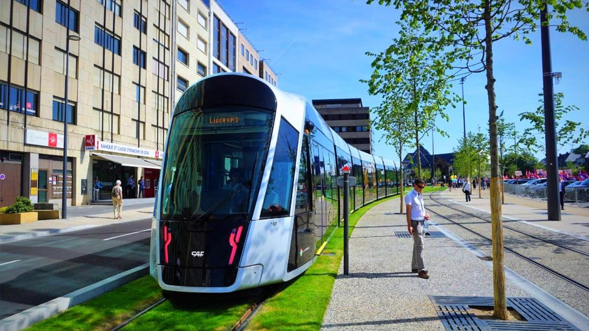 Lüksemburg tramvia tren, tramvay ve otobüs ücretsiz oluyor!