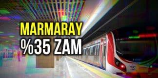 Marmaray bilet fiyatlarına yüzde 35 zam: En kısa mesafe 3,50 TL oldu!