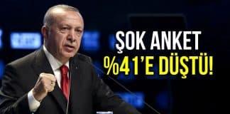 Metropoll anketi: Erdoğan görev onayı yüzde 41,9
