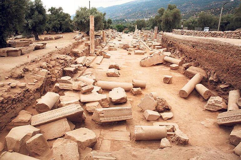 nysa antik kenti aydın gezilecek yerler karya