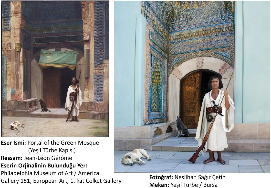 Portal of the Green Mosque - Jean-Léon Gérôme