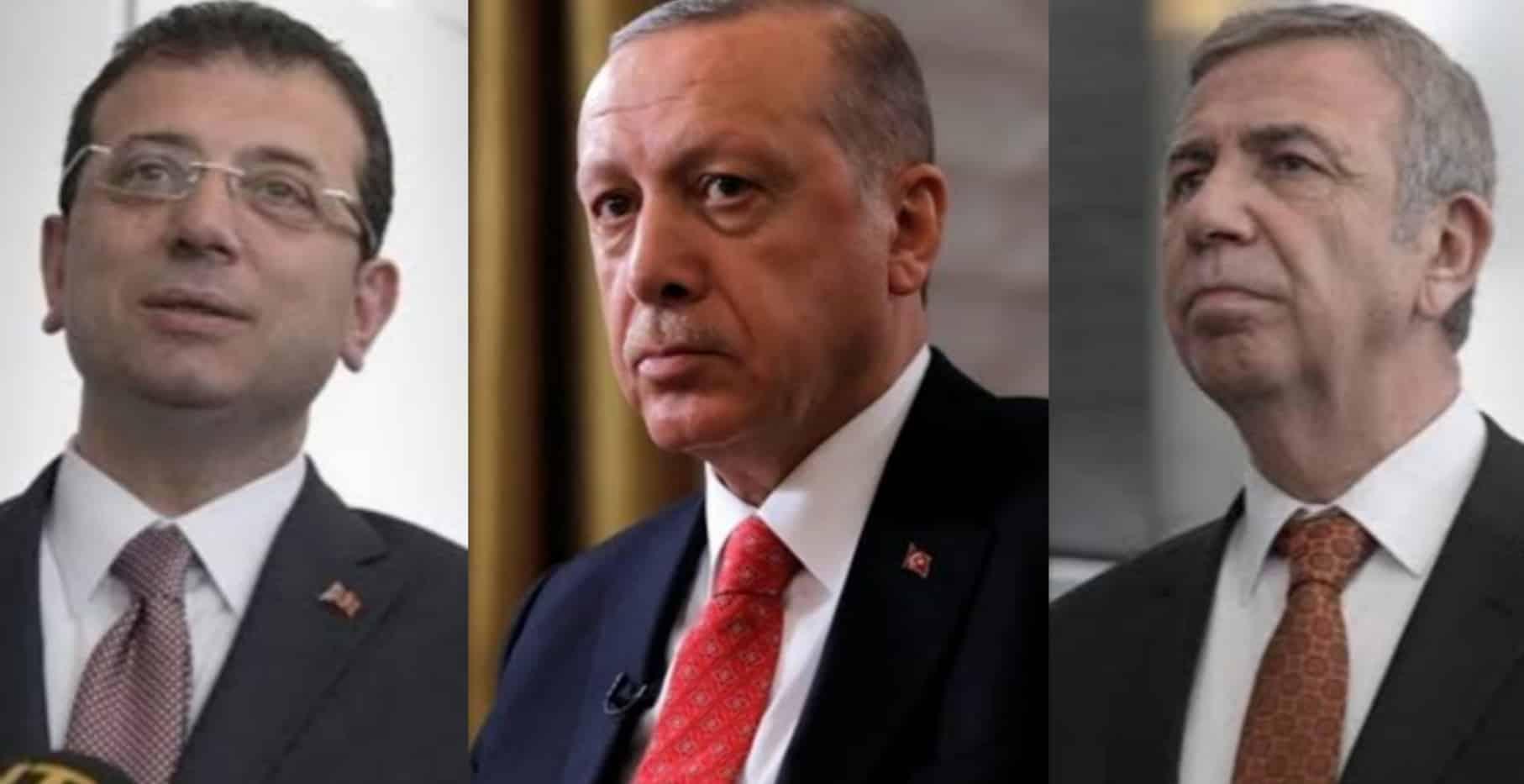 Anket: İmamoğlu ve Yavaş, Erdoğan ı geride bıraktı!