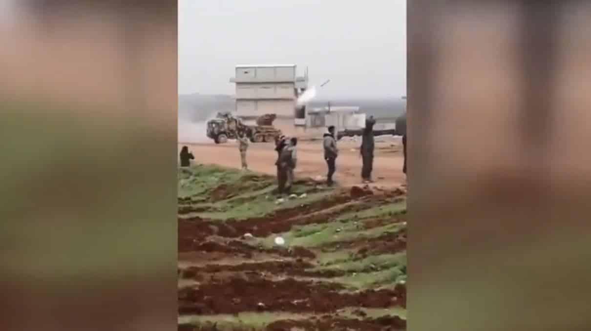 İHA: TSK Halep rejim hedeflerini ÇRNA ile vurdu