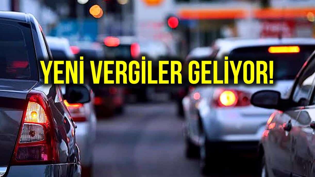 Yeni vergiler kapıda: MTV ye bir de trafik katkı payı eklenecek!