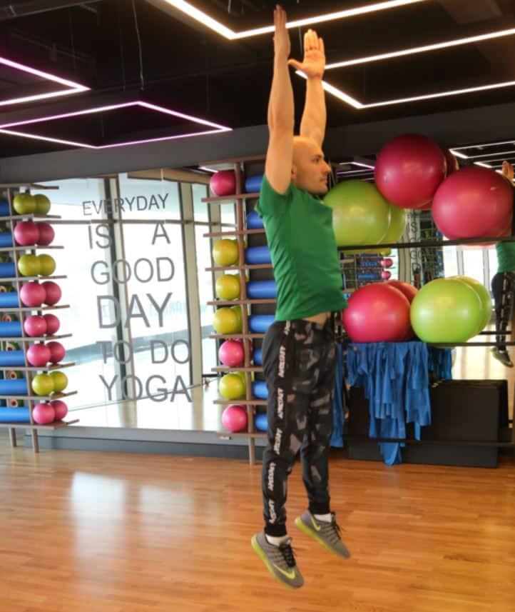 Burpee to Squat Jump - Metabolizmayı hızlandıran egzersizler
