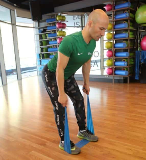Therraband Row - Metabolizmayı hızlandıran egzersizler