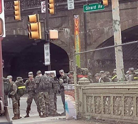 ABD ordusu New York'ta sokağa indi!