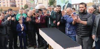 rize AKP liler DEVA Partisi için gıyabi cenaze namazı kıldı
