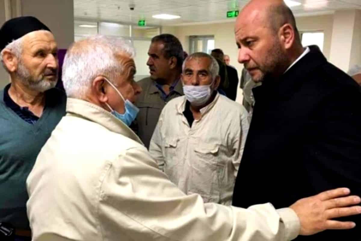 AKP li Nevşehir Belediye Başkanı karantinaya alınan umrecileri ziyaret etti!