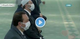 Beştepe Millet Camisi cuma namazı kılındı video