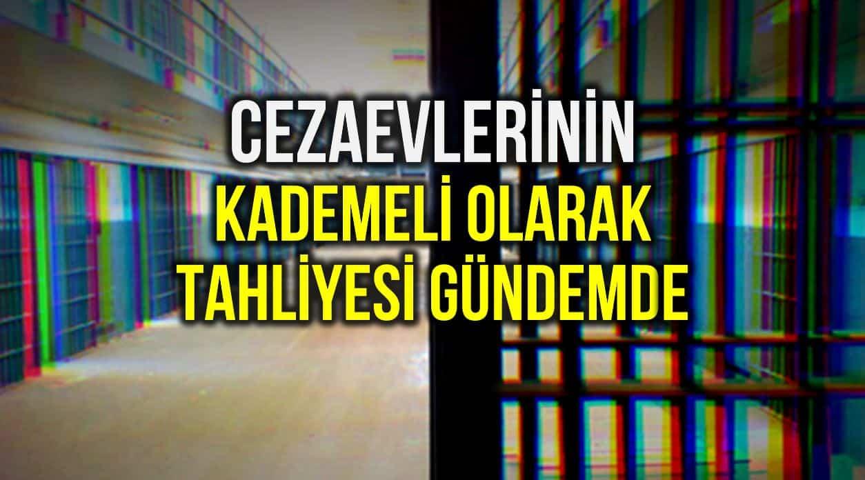 Ceza infaz indirimi: Cezaevlerinin kademeli olarak tahliyesi gündemde!