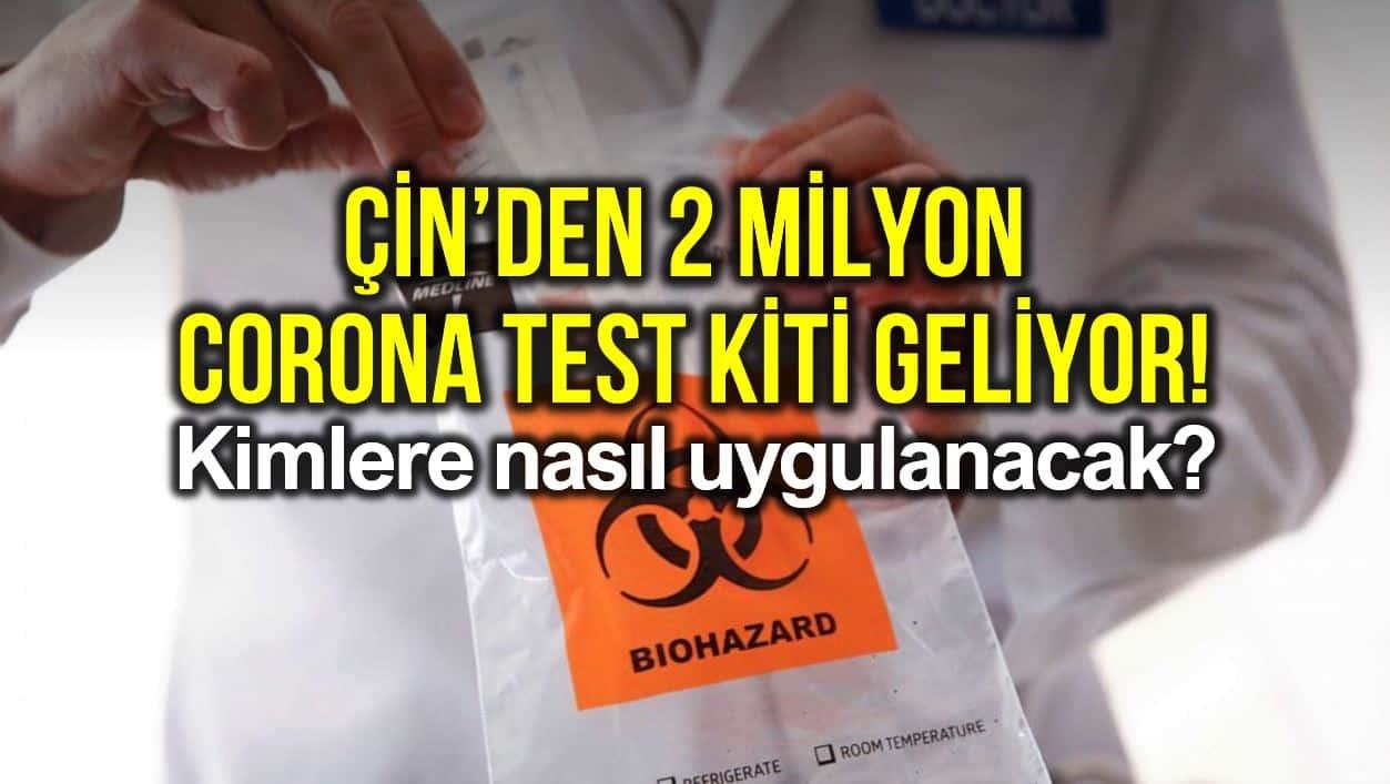 corona test kiti koronavirüs testi kime nasıl uygulanacak