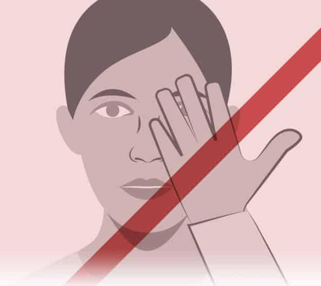 corona virüsü korunma önlemleri Gözlerinize, burnunuzu ve ağzınıza dokunmamaya çalışın!