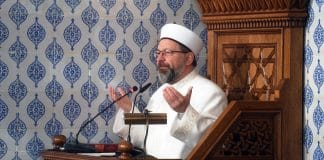 Diyanet İşleri Başkanı: Bahar Kalkanı Harekatı için tüm camilerde Fetih Suresi okunacak