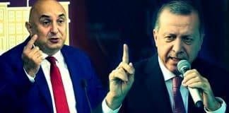 Erdoğan dan, CHP li Engin Özkoç a 1 milyon liralık tazminat davası