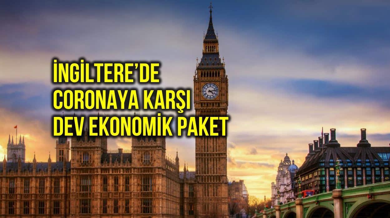 İngiltere corona ekonomik tedbirleri: Çalışamayanların maaşını 3 ay devlet ödeyecek!