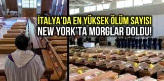 İtalya da kara gün: 1 günde 969 kişi hayatını kaybetti!