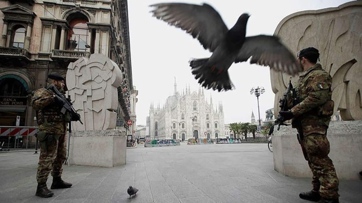 İtalya da korkunç bilanço: Bir günde 627 kişi öldü!