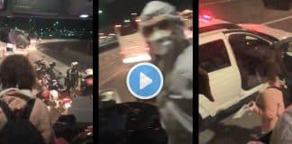 karantinaya gitmesi gereken kadın polisler eşliğinde otobüsten alındı video