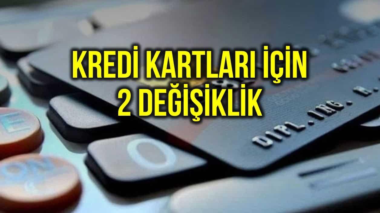 Kredi kartı faizleri ve asgari ödeme tutarı oranı düştü!