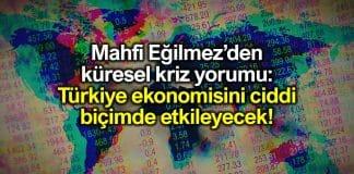 Küresel kriz Türkiye ekonomisini nasıl etkileyecek?
