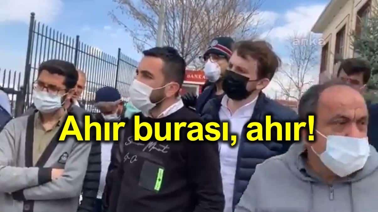 Öğrenci yurtlarında karantinaya alınan vatandaşlardan tepki: Ahır burası ahır!